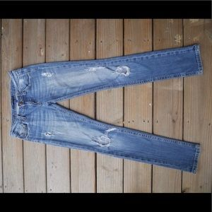 Vigoss Distressed Low Rise Skinny Jeans
